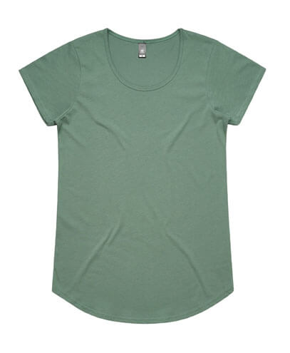 4008 Womens Mali Scoop T-shirt - Sage