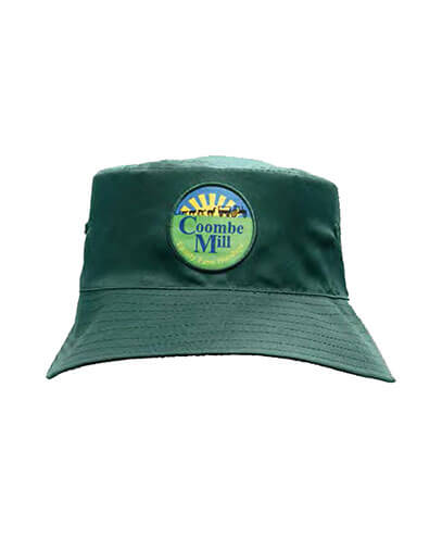 Breathable Poly Twill Bucket Hat - Bottle - With Embroidered Logo