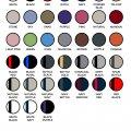 4199 Colour Chart