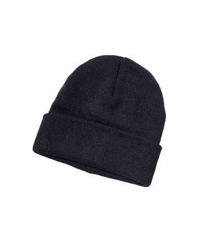 4230 50% Wool Blend Beanie - Black