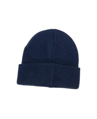 4230 50% Wool Blend Beanie - Navy