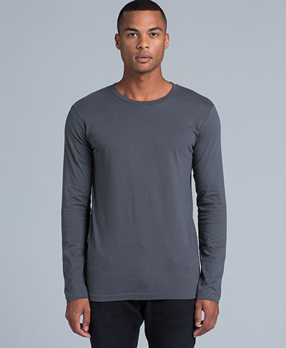 5009 Mens Ink Long Sleeve T-shirt - Front