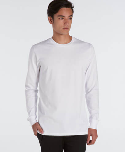 5029 Adults Base Long Sleeve Tee