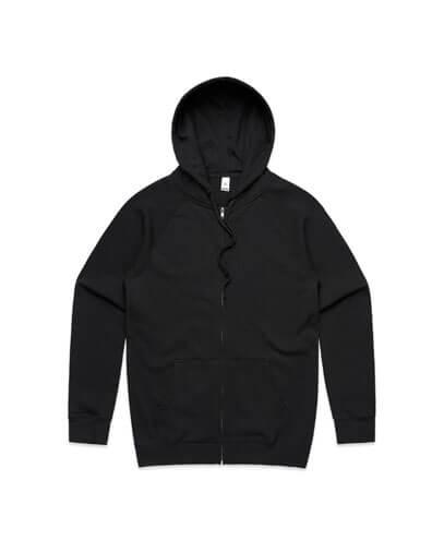 5103 Adults Official Zip Hoodie - Black