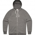 5107 Adults Traction Zip Hoodie - Steel Marle