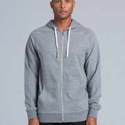 5107 Adults Traction Zip Hoodie - Front