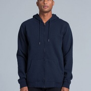 5204 Adults Index Zip Hood - Front