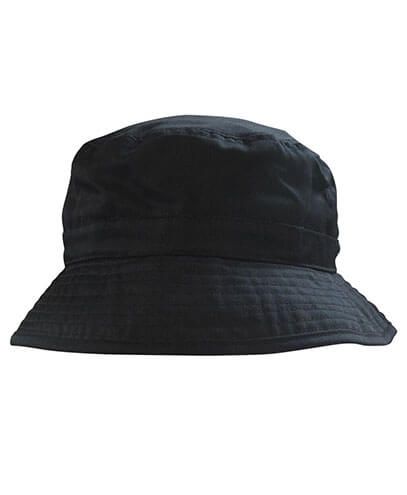 6033a Bucket Hat - Black