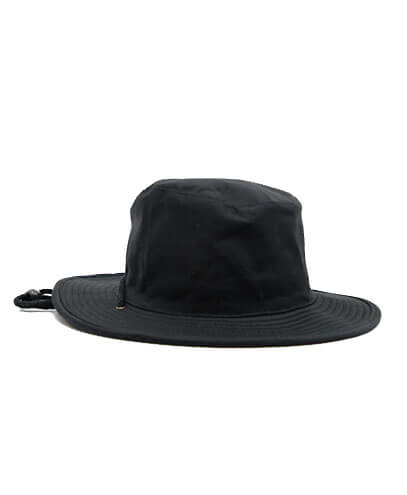 S6048 HW24 Safari Wide Brim Hat - Black