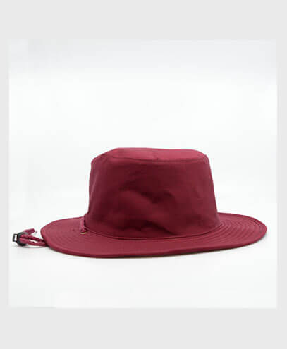 S6048 HW24 Safari Wide Brim Hat - Maroon