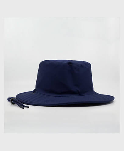 S6048 HW24 Safari Wide Brim Hat - Navy