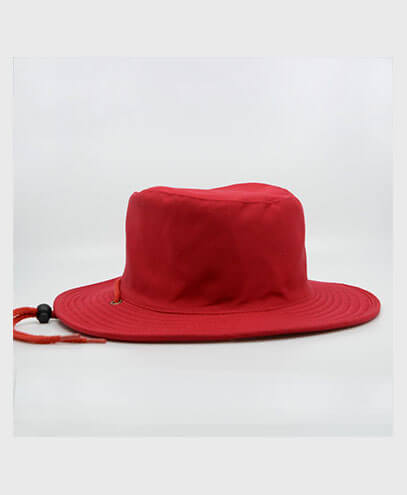 S6048 HW24 Safari Wide Brim Hat - Red