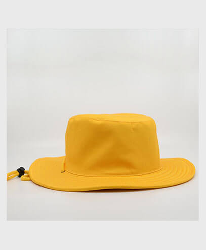 S6048 HW24 Safari Wide Brim Hat - Yellow