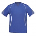 T406MS Mens Razor Quick Dry T-shirt - Royal / White