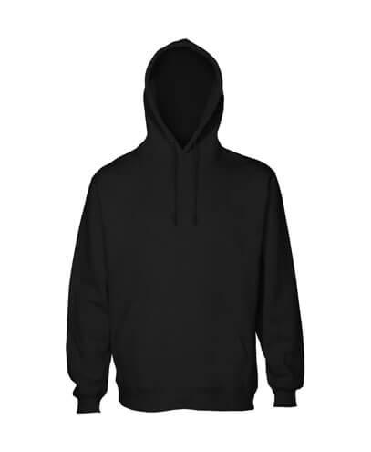 HSIK Kids Pullover Hoodie - Black