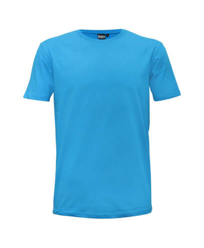 T102 Kids Outline T-Shirt - Aqua