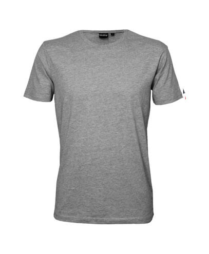 T102 Kids Outline T-Shirt - Grey Marle