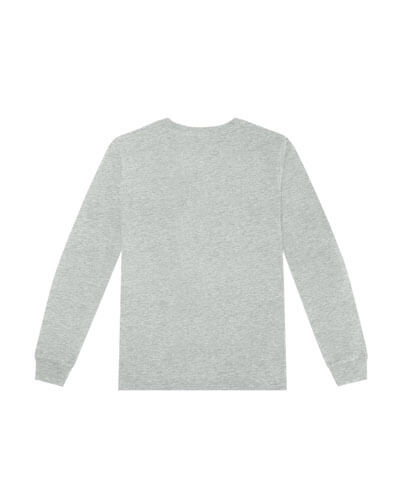 T404 Womens Long Sleeve Loafer Tee - Back View