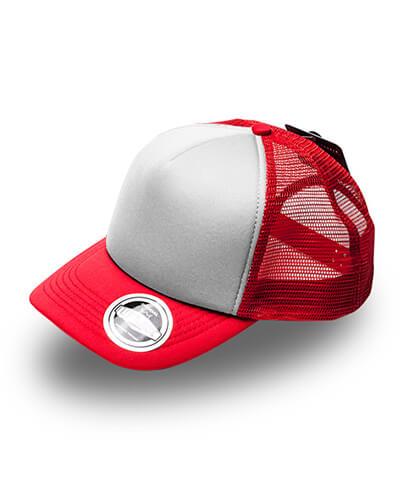 U15502 U Flex Foam Trucker Cap - Red / White