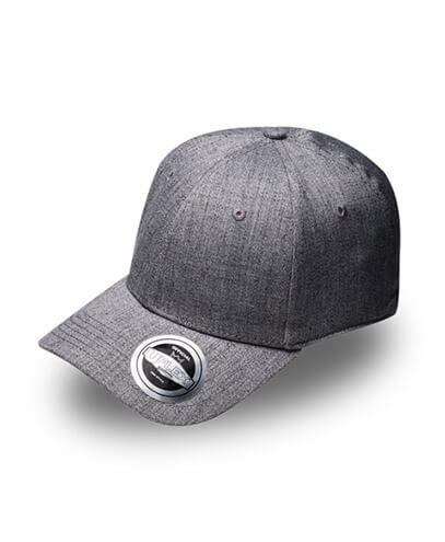 U15603 U Flex Pro Style Fitted Cap - Grey Melange