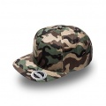 U15606 U Flex Snap Back Flat Peak Cap - Camo