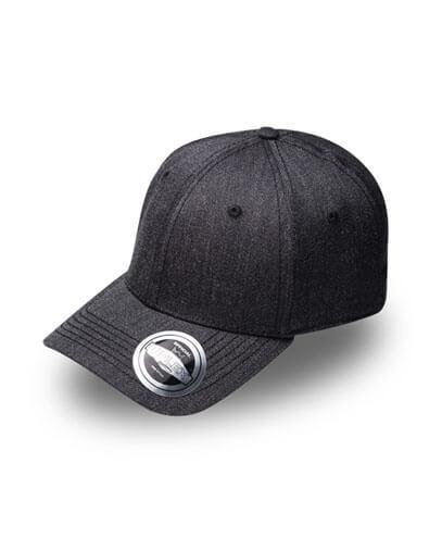 U15608 U Flex Pro Style Snapback Cap - Charcoal Melange