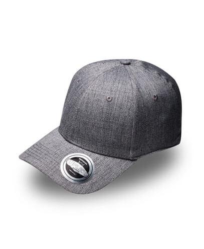 U15608 U Flex Pro Style Snapback Cap - Grey Melange