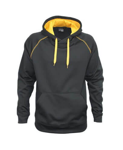 XTH-K Youth Performance Hoodie - Black/Gold