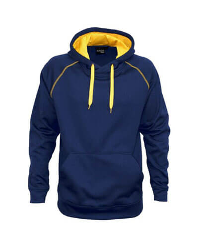 XTH-K Youth Performance Hoodie - Navy/Gold