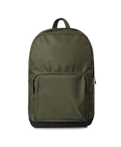 1011 Metro Backpack - Army/Black