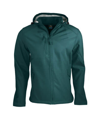 1513 Mens Olympus Softshell Jacket - Bottle Green