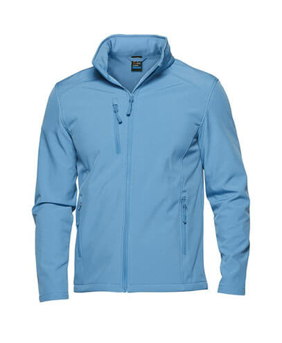 1513 Mens Olympus Softshell Jacket - Cyan