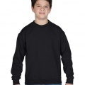 18000 Kids Basic Sweatshirt - Black