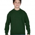 18000 Kids Basic Sweatshirt - Forest Green