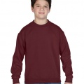 18000 Kids Basic Sweatshirt - Maroon