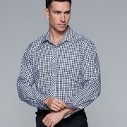 1909L Mens Long Sleeve Brighton Shirt - Worn by Male Model