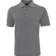 210 Mens Polo - Grey Marle
