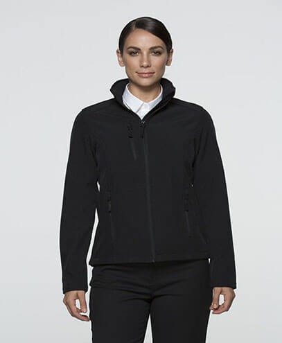 2513 Womens Olympus Softshell Jacket - Black