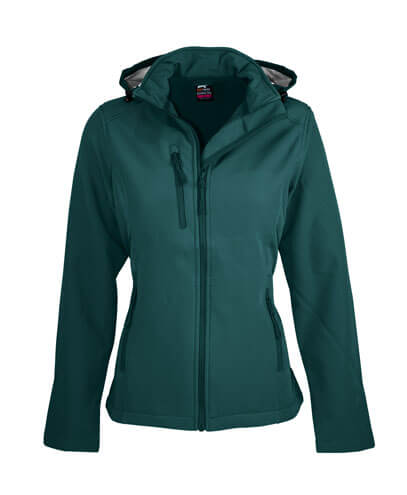 2513 Womens Olympus Softshell Jacket - Bottle Green