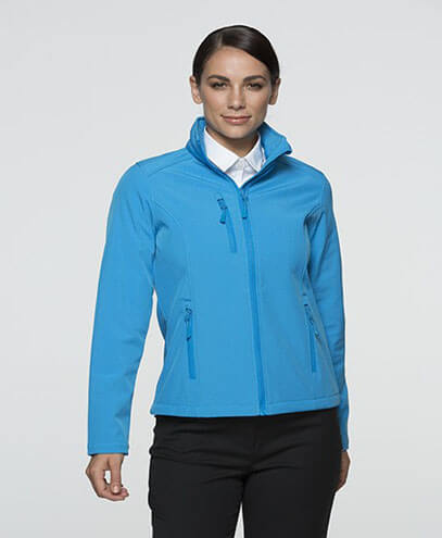 2513 Womens Olympus Softshell Jacket - Cyan