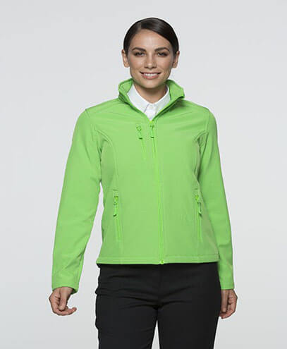2513 Womens Olympus Softshell Jacket - Green