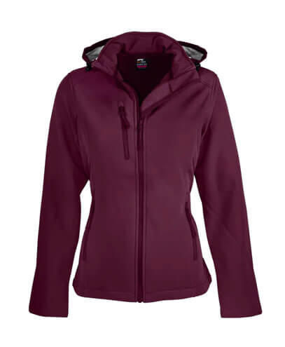 2513 Womens Olympus Softshell Jacket - Maroon