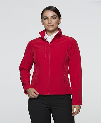 2513 Womens Olympus Softshell Jacket - Red
