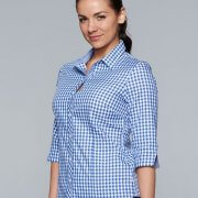 2909T Womens 3/4 Sleeve Brighton Shirt - Worn