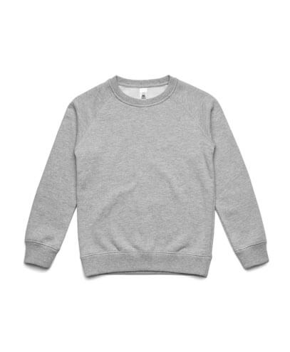 3030 Kids Supply Crew Sweatshirt - Grey Marle