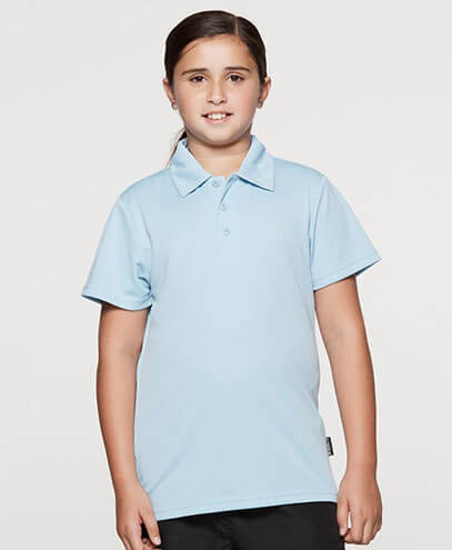 3307 Kids Botany Polo - Worn by Girl Model