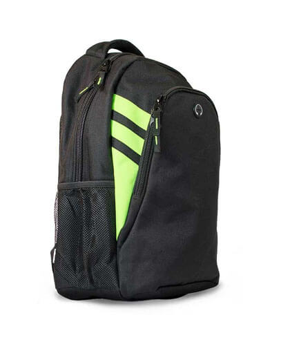 4000 Tasman Backpack - Black/Lime