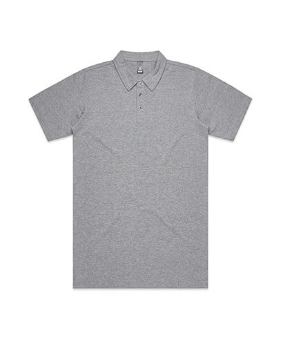 5402 Adults Chad Polo - Grey Marle