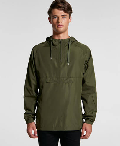 5501 Mens Cyrus Windbreaker - On Male Model