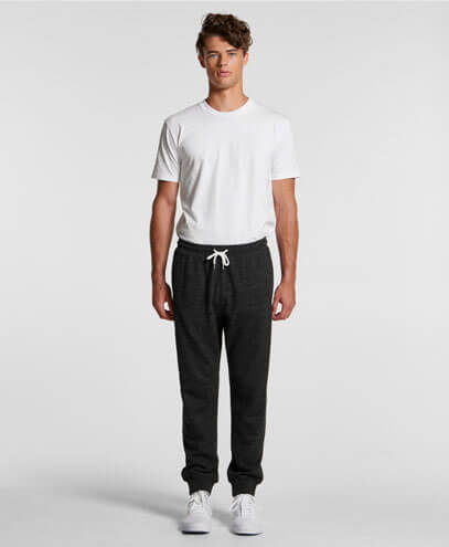5915 Adults Fleck Track Pants - Worn by Male Model
